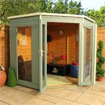 7' x 7' Corner Summerhouse Video