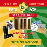 World Cup 2014 Competition - Spot the Ball to WIN!