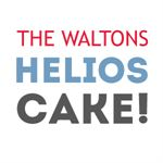The Walton's Helios Summerhouse Cake