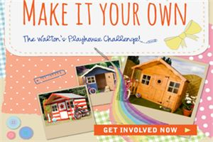The Waltons Playhouse Challenge Competition!
