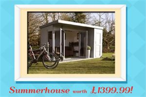 Win a summerhouse worth over £1000