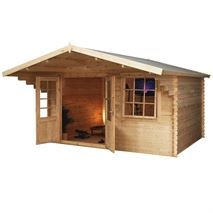 4m x 3m Waltons Retreat Traditional Log Cabin