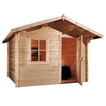 3m x 2.4m Waltons Escape Log Cabin