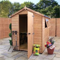 7 x 5 Waltons Groundsman Tongue and Groove Apex Garden Shed