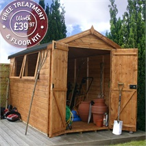 10 x 6 Waltons Groundsman Tongue and Groove Apex Garden Shed