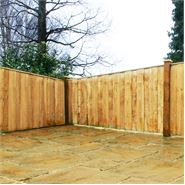 4ft x 6ft Waltons Vertical Hit and Miss Wooden Fence Panels