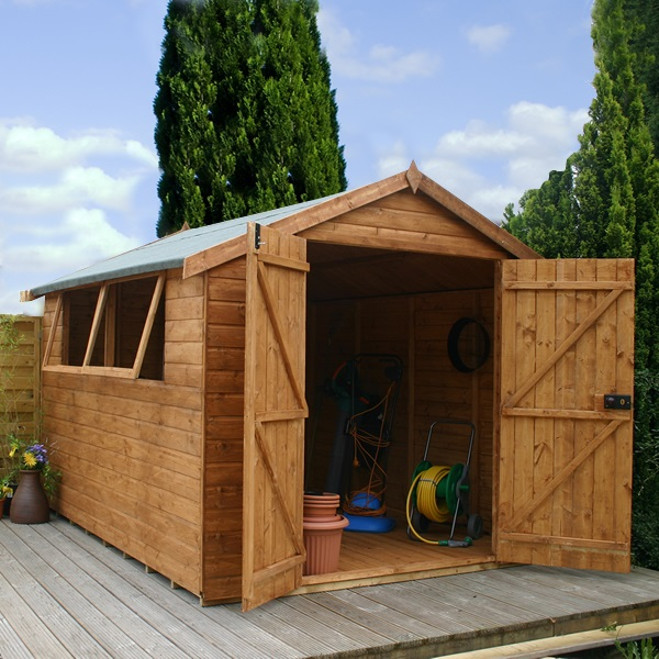 10 X 8 Waltons Shiplap Tongue And Groove Apex Garden Shed