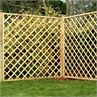 Pressure Treated Diamond Trellis