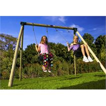 8 x 7 Plum Products Marmoset Two Swing Outdoor Activity Centre