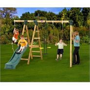 12 x 11 Plum Products Meerkat Swing and Slide Activity Centre