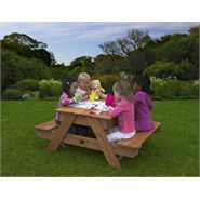 4 x 3 Plum Products Sand & Picnic Table