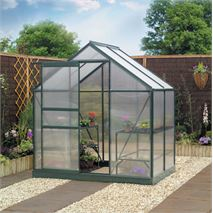 4 x 6 Gardman Polycarbonate Greenhouse