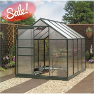 8 x 6 Gardman Polycarbonate Greenhouse