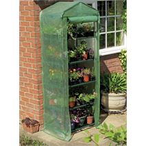 5 x 3 Gardman Compact Walk-in-Greenhouse