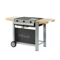 Lifestyle Aurora 3 Burner Flat Bed Barbecue