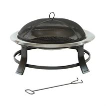 Lifestyle Prima Stainless Steel Bowl Fire Pit