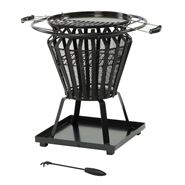 Lifestyle Signa Round Fire Pit with Grill
