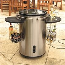 Lifestyle Stainless Steel Electric Cooler