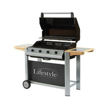 Lifestyle Aurora 4 Burner Hooded Barbecue