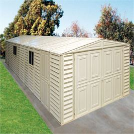Store More DuraMax Steel Framed & Vinyl Clad Garage Building