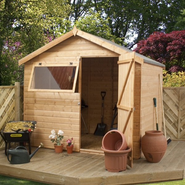 How to build a garden shed new zealand 8 x 6 timber shed for Apex garden sheds