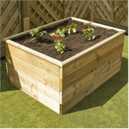 1800 x 900 x 150 Waltons Standard Wooden Raised Bed