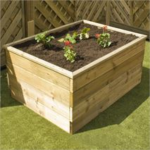 1800 x 900 x 450 Waltons Standard Wooden Raised Bed