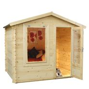 2m x 2.5m Waltons Mini Log Cabin Studio
