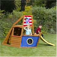 7 x 5 Plum Products Captain Plum Wooden Play Centre