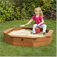 4 x 4 Plum Products Small Octagonal Sand Pit