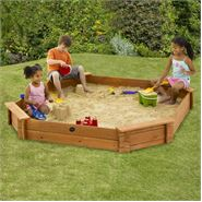 7 x 7 Plum Products Large Octagonal Sand Pit