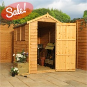 6 x 4 Waltons Overlap Apex Wooden Shed