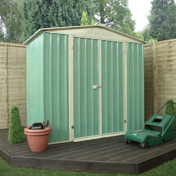 6 x 4 waltons apex metal shed for Garden shed 4 x 3