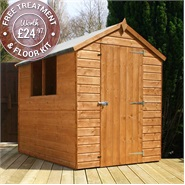 7 x 5 Waltons Tongue and Groove Apex Wooden Shed