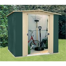 6ft x 6ft StoreMore Canberra Six Apex Metal Shed