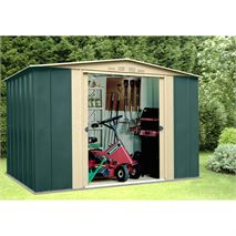 10ft x 7ft StoreMore Canberra Ten Apex Metal Shed