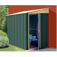 4' x 8' StoreMore Canberra Eight Pent Lean-To Metal Shed