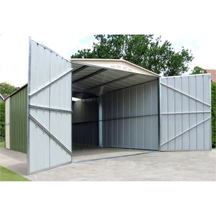 10' x 17' Canberra Metal Garage 1