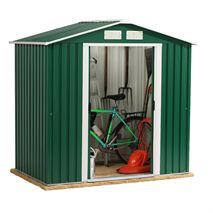 6ft x 4ft StoreMore Emerald Parkdale Apex Metal Shed