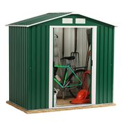 6 x 4 Store More Emerald Parkdale Apex Metal Shed