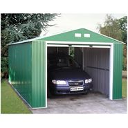12' x 20' StoreMore Emerald Olympian Apex Metal Garage