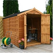 10 x 6 Waltons Windowless Overlap Apex Wooden Shed
