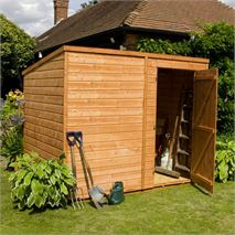 6 x 4 Waltons Windowless Tongue and Groove Pent Wooden Shed