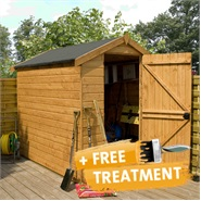7 x 5 Waltons Windowless EasyFit Tongue and Groove Apex Garden Shed