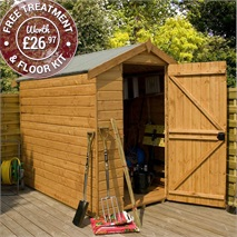 7 x 5 Premier Groundsman Apex Shed (No Windows)