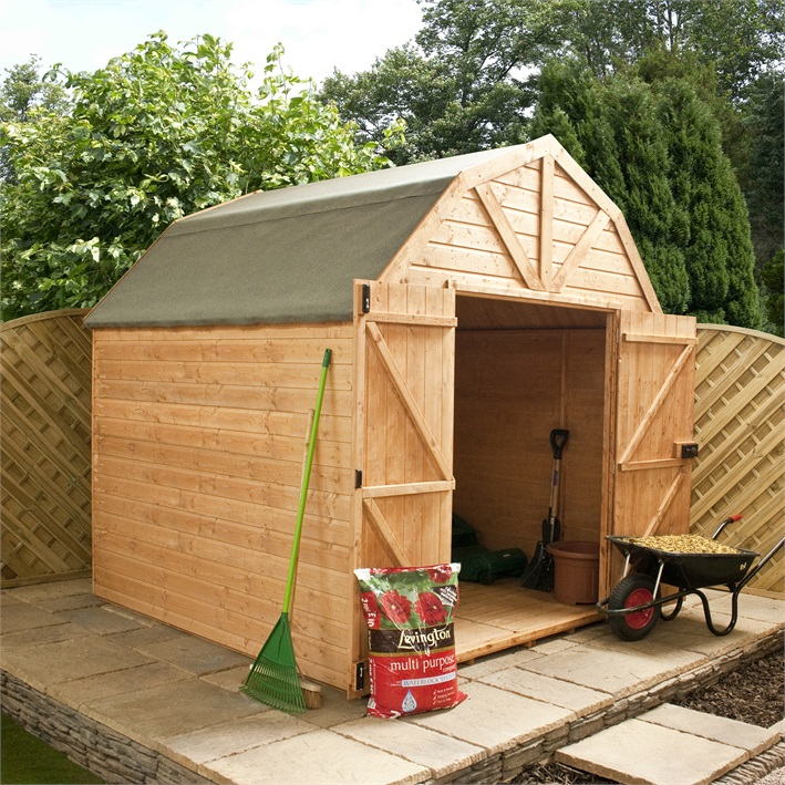 Lts Access Wooden Sheds At B And Q