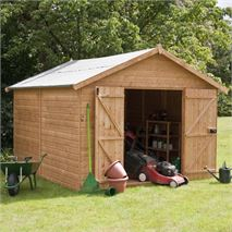 12 x 10 Waltons Groundsman Windowless Tongue and Groove Modular Workshop