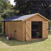 20 x 10 Waltons Groundsman Windowless Tongue and Groove Modular Workshop