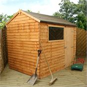6 x 8 Walton's Reverse Overlap Apex Wooden Shed