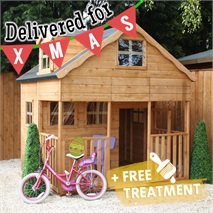 7 x 7 Waltons Dorma Window Outdoor Playhouse